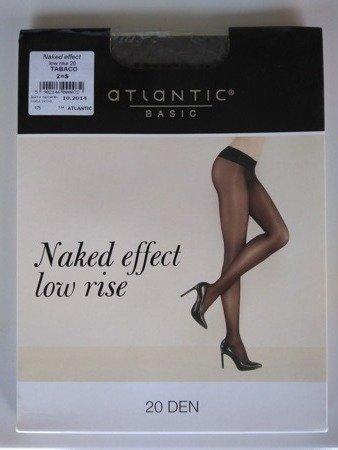 BLT-001 Rajstopy Naked Effect Low Rise  (20 DEN) Tabaco