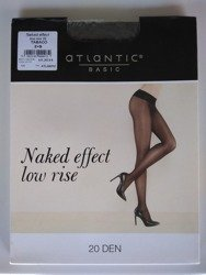 BLT-001 Rajstopy Naked Effect Low Rise  (20 DEN) Tabaco
