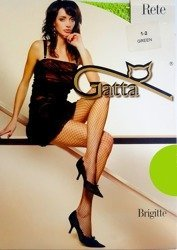 Rajstopy Kabaretki Gatta 1-2 Brigitte 05 zieleń